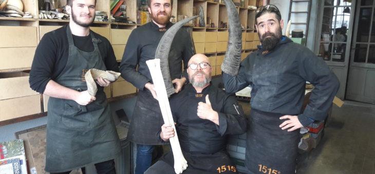 Encore une belle rencontre avec Manu Laplace, artisan coutelier à Thiers