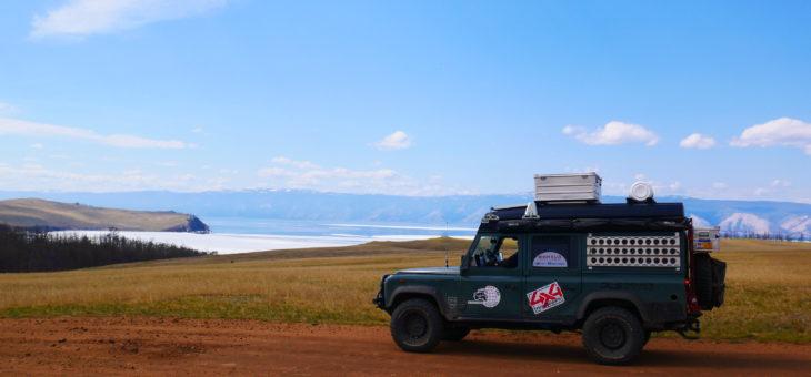 Du 8 mai 27 mai : de Omsk au lac Baikal…le  but ultime de  notre grande traversée russe.