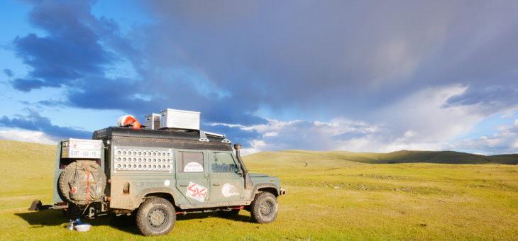 La Mongolie : cap vers l'Ouest ! Du 11 au 29 juin.