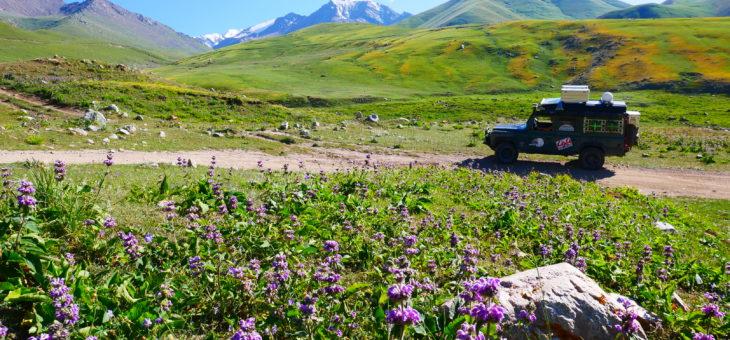 Le Kirghizistan : entre lacs d'altitude et sommets enneigés ! du 17 juillet au 3 Août.